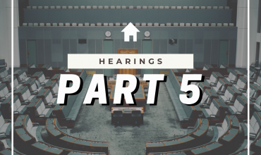Abortion Law Reform Act 2019 – Hearings into the Bill