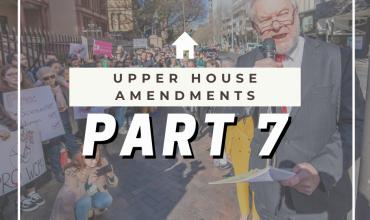 Abortion Law Reform Act – Upper House Amendments Part 1