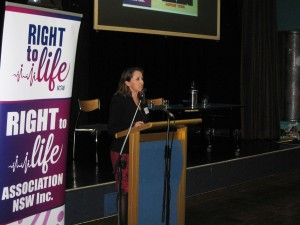 Sophie York Marriage Alliance spokesperson addresses Conference